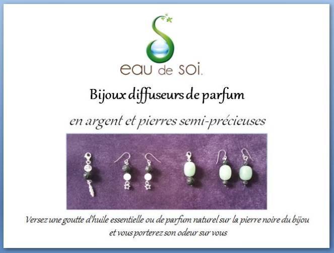 Bijoux diffuseurs de parfum
