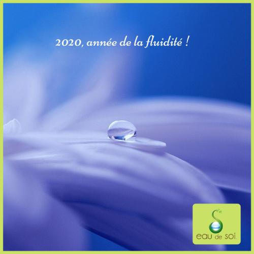 2020 année de la fluidité 1 - Eau de Soi